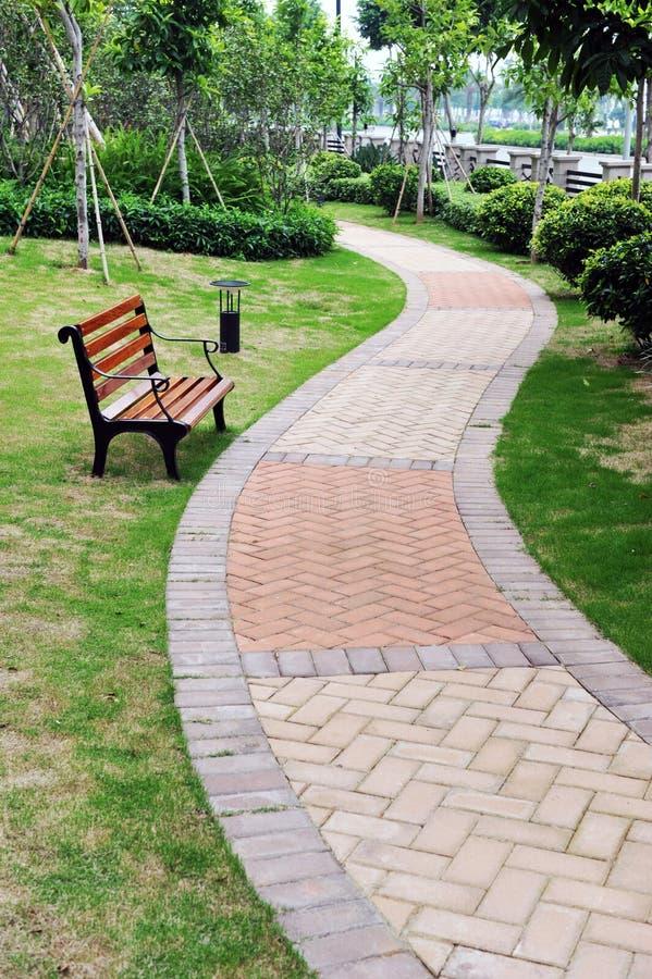 Free Bench In Garden Stock Photos - 14685223