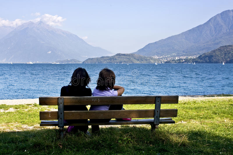 Download Bench By The Lake Royalty Free Stock Photography - Image: 21621537