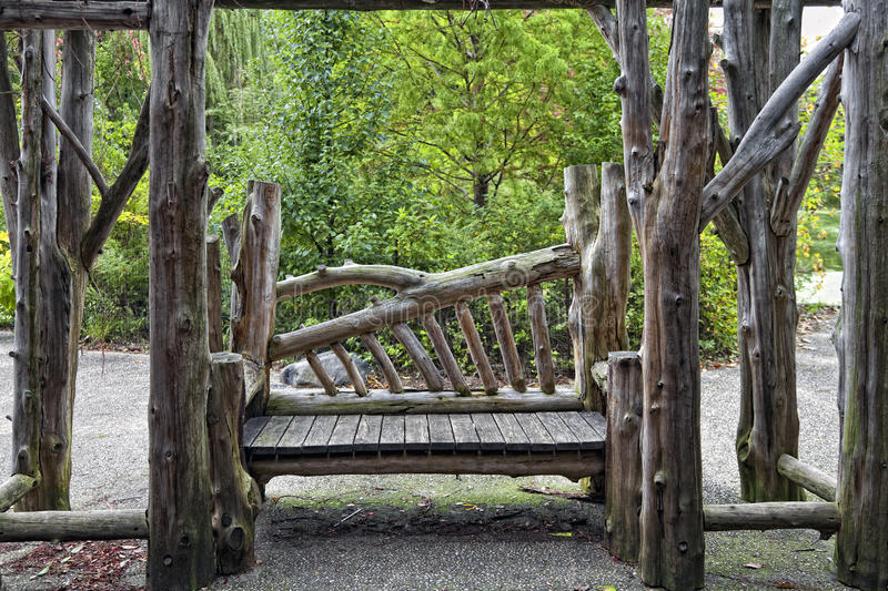 Download Bench in the Park stock image. Image of daylight, handcrafted - 22000819