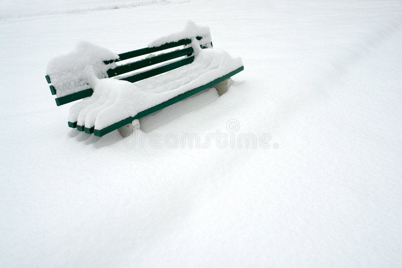 Download Bench in snow stock photo. Image of outdoors, nobody, object - 3823646