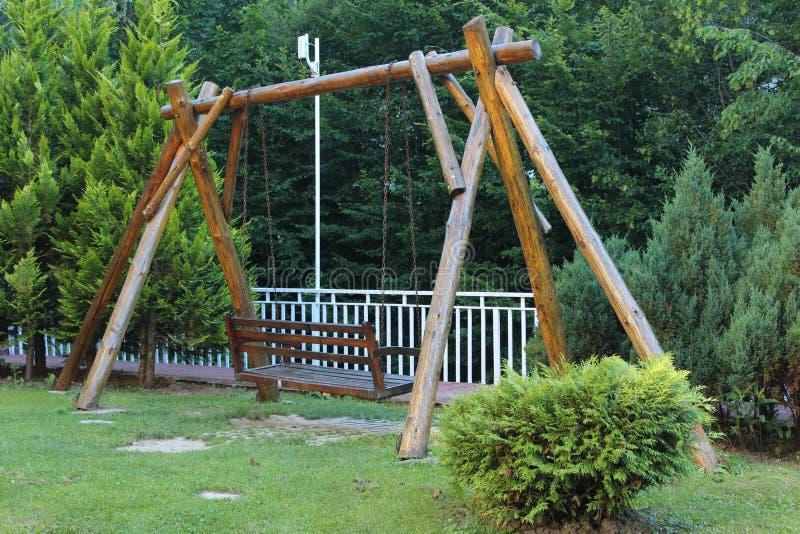 Bench-swing royalty free stock image