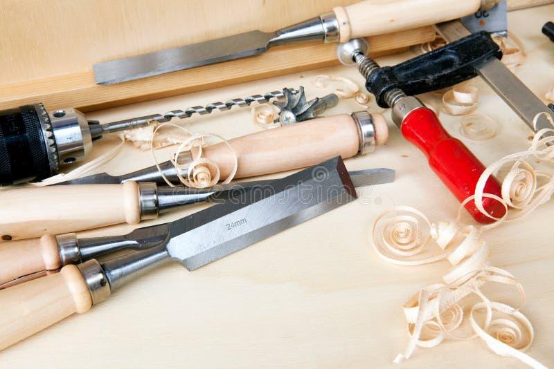 DIY tools - close up royalty free stock image