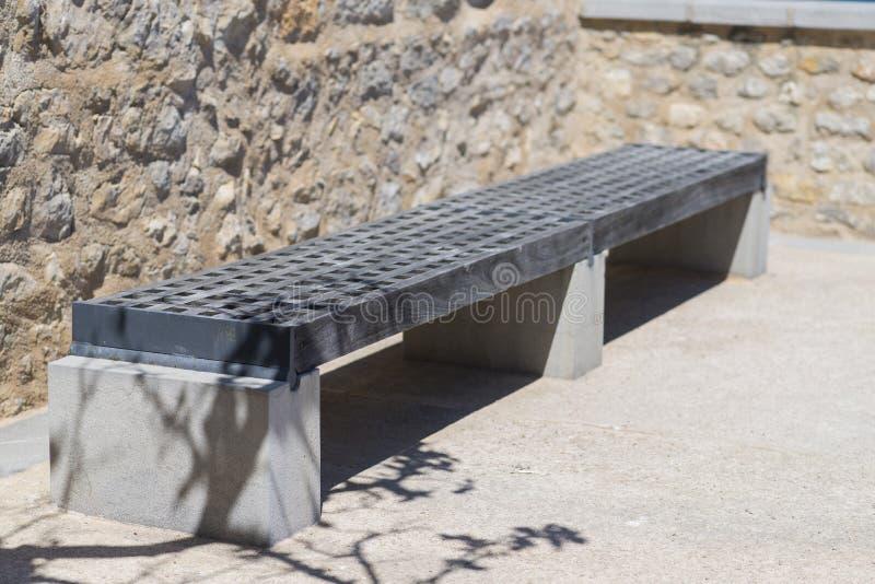 bench trä royaltyfri foto