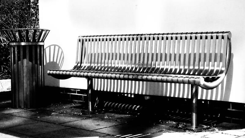 Bench By Wall Free Public Domain Cc0 Image