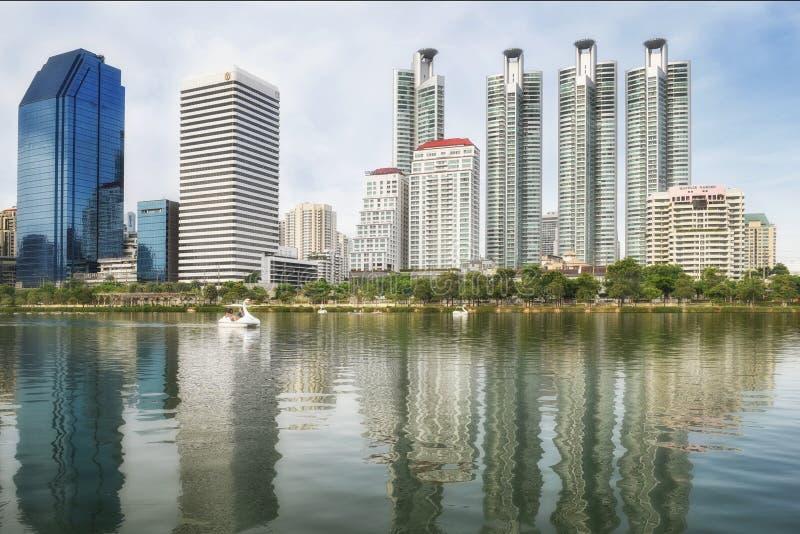 Benchakitti park w Bangkok Tajlandia fotografia stock