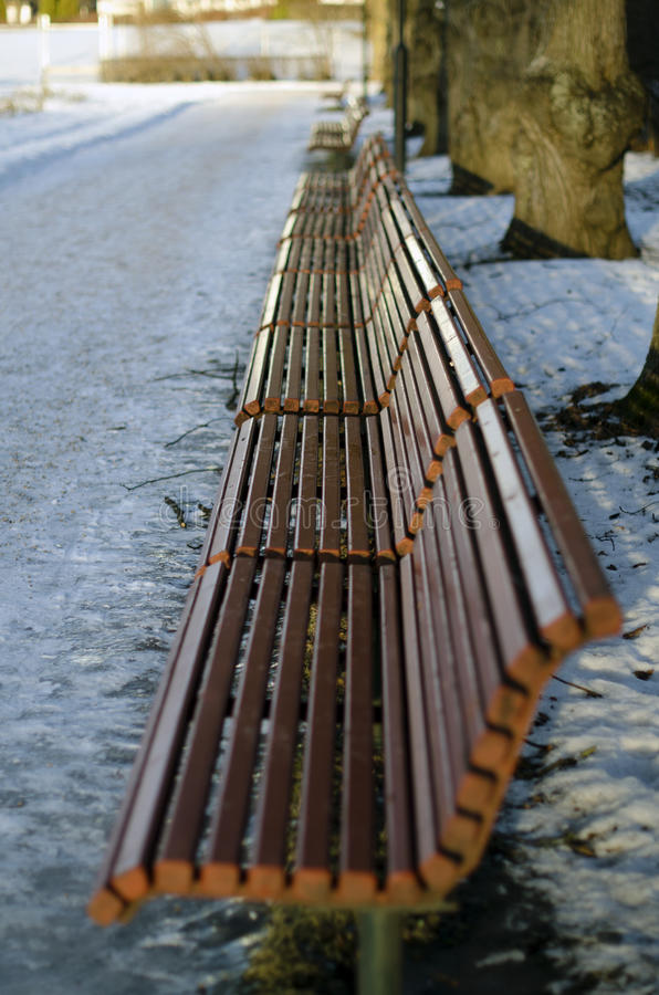 Free Benches At Vigeland S Park Stock Photos - 50351853