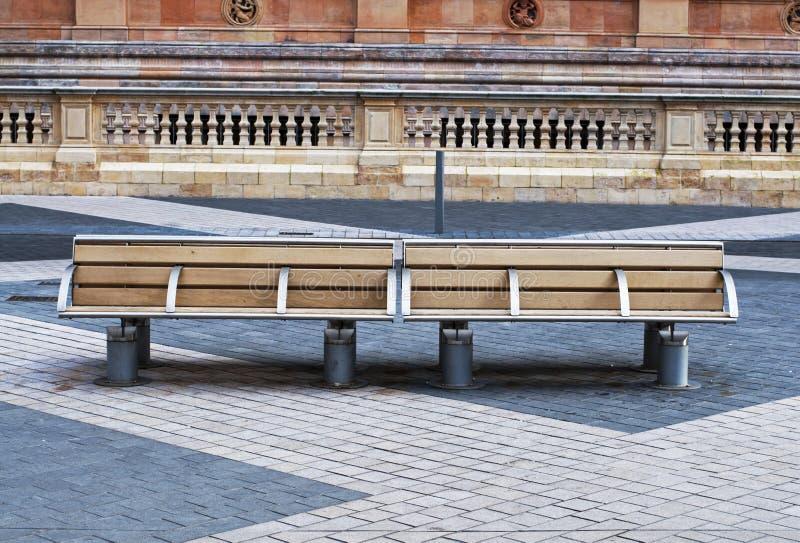 benches london стоковое изображение