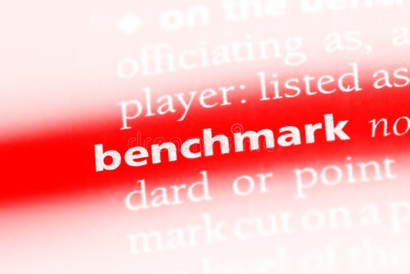 benchmark immagine stock