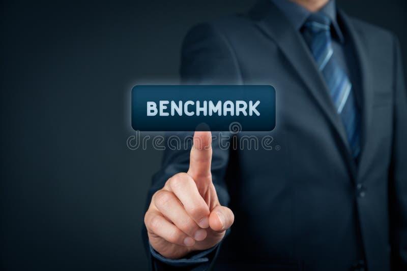 benchmark fotografia stock