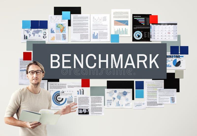 Benchmark Development Improvement Efficiency Concept. Business Benchmark Development Improvement Concept stock photos
