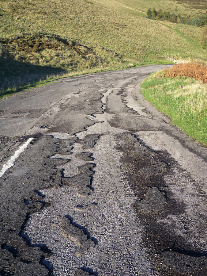 Download Abandoned Old Road stock image. Image of abandoned, peak - 34979369
