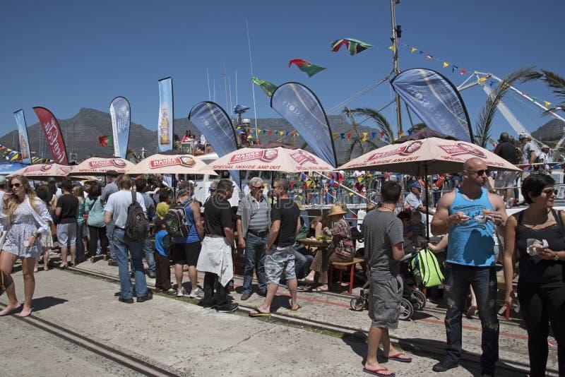 Bendición del festival anual Cape Town de la flota pesquera fotos de archivo