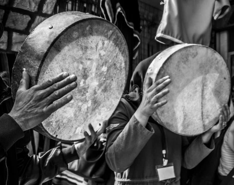 bendir de folklore van de handmuziek royalty-vrije stock foto
