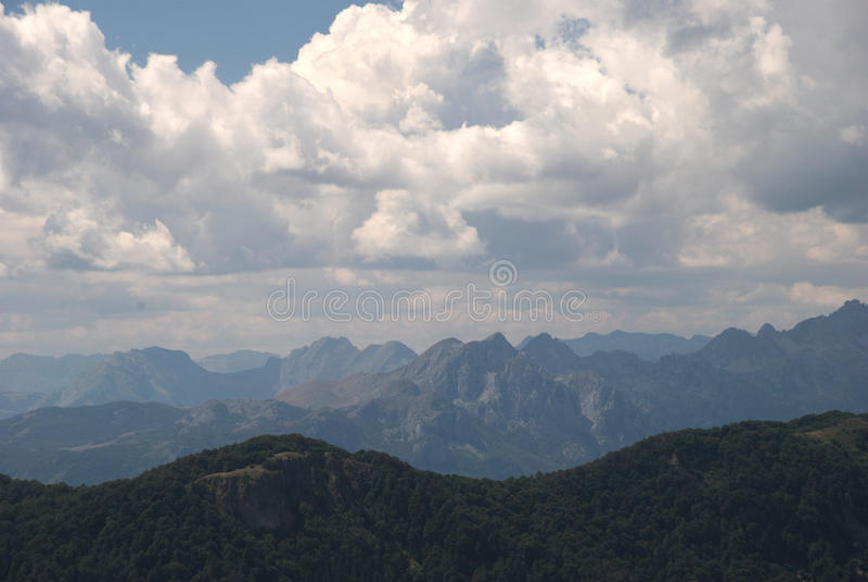 Bendovac, Biogradsko jezero, Montenegro zdjęcia stock