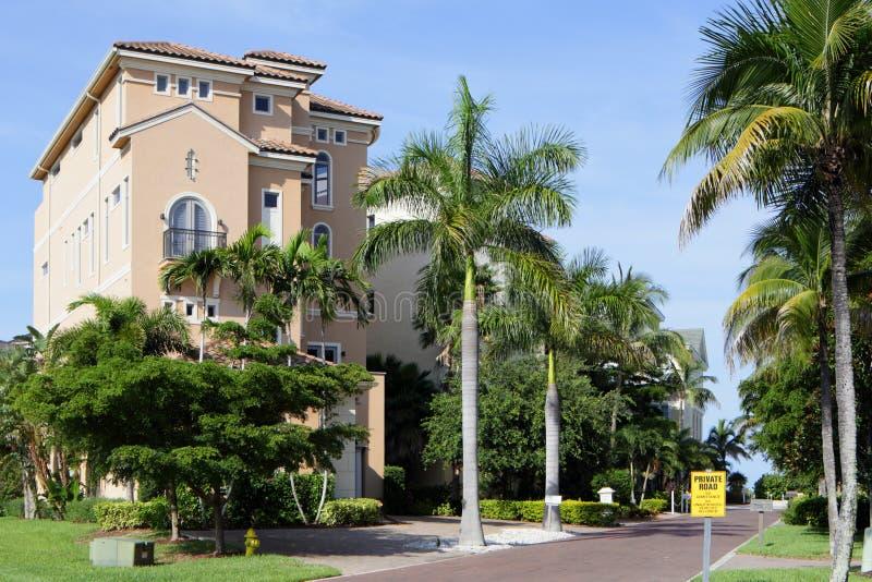 Bene immobile di lusso di Florida immagine stock