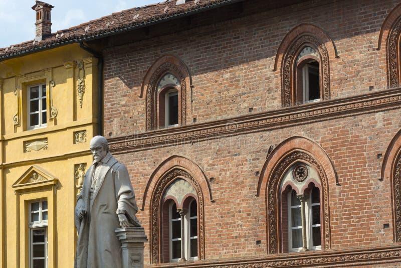 Bene Vagienna (Piamonte, Italia) fotografía de archivo libre de regalías