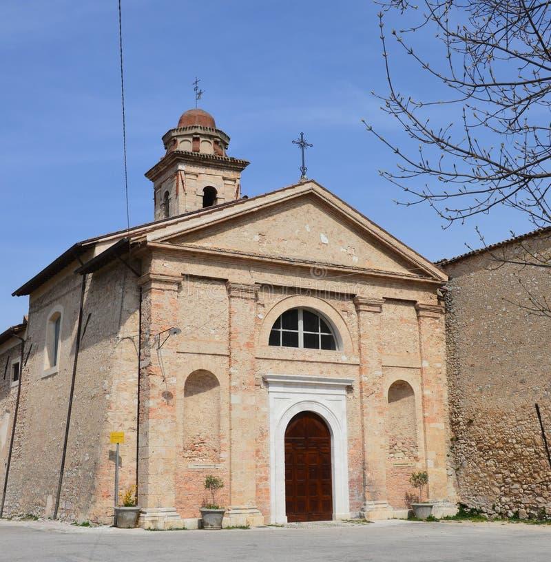 Benedettine Monastero Di S наковальен стоковое фото rf