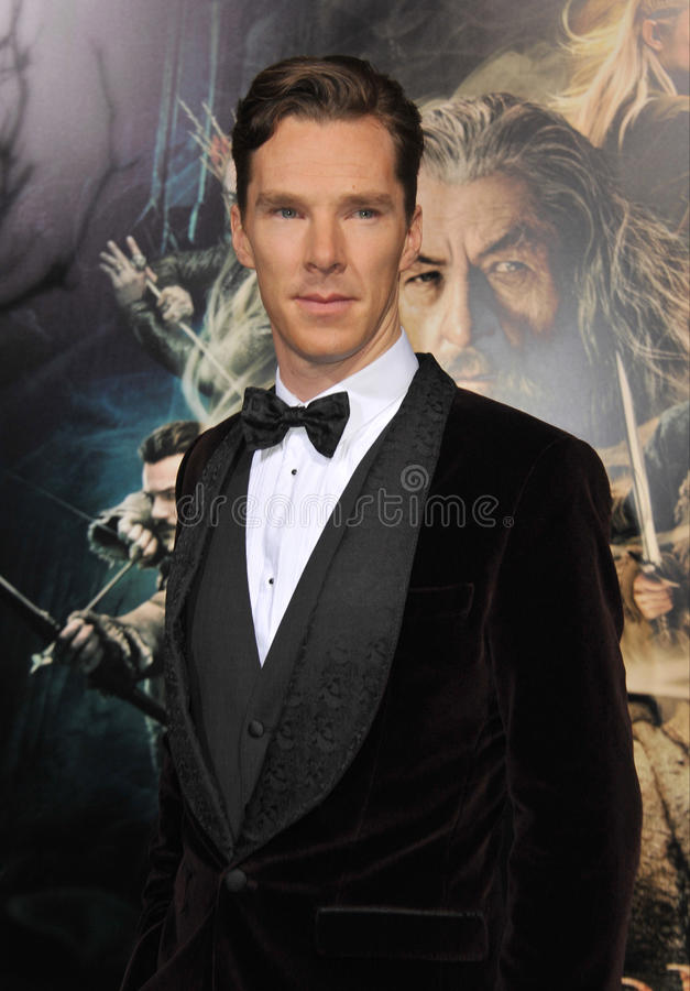 Benedict Cumberbatch immagine stock