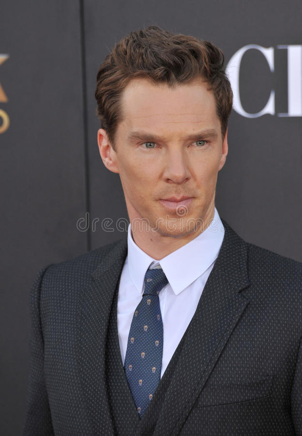 Free Benedict Cumberbatch Stock Photography - 48119532