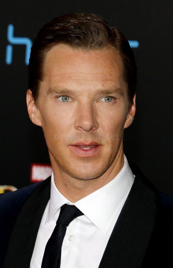 Benedict Cumberbatch stock images