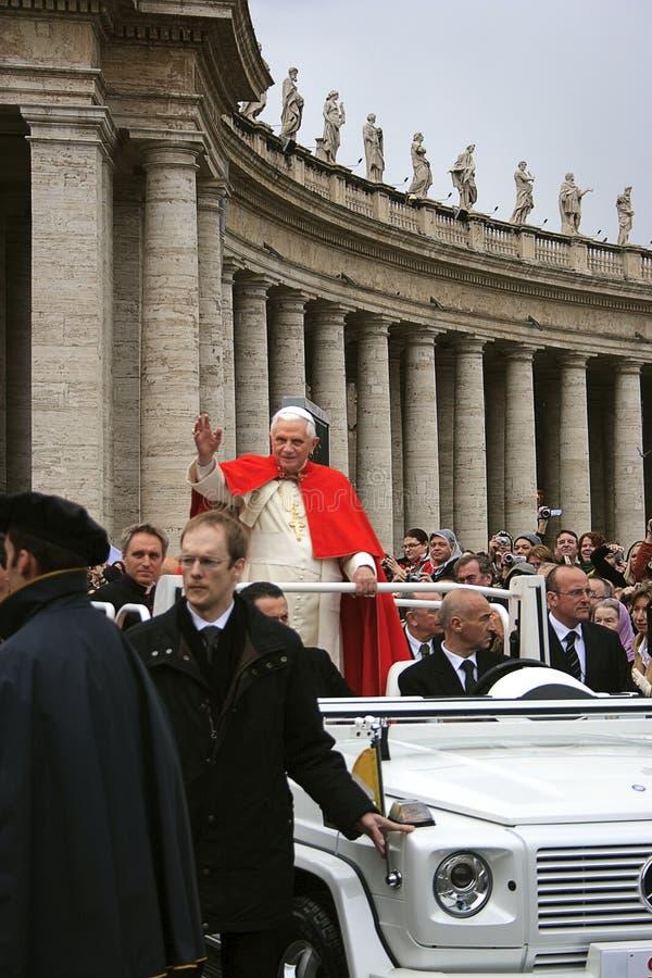benedict pope xvi royaltyfri bild