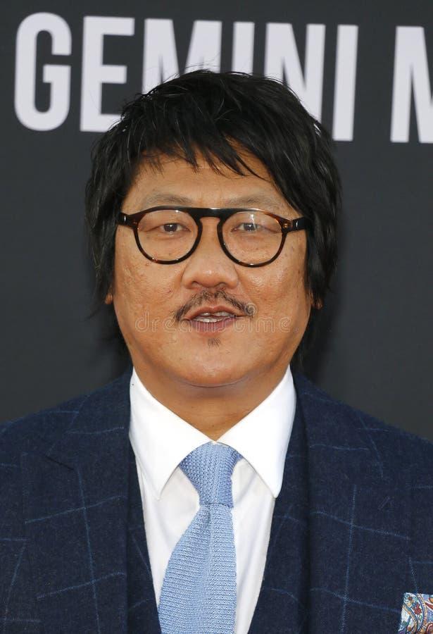 Benedict Wong stock photo