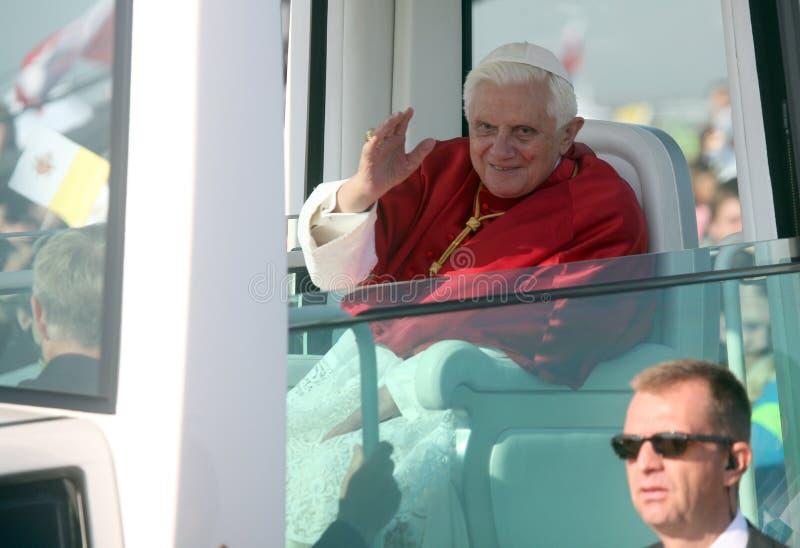Benedict XVI Zoll   lizenzfreie stockbilder