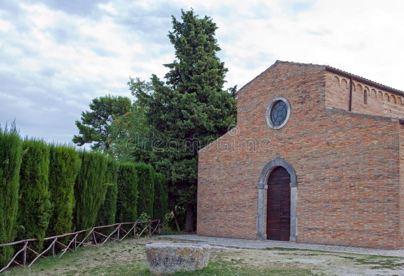 Benedictine αβαεία του Abruzzo στοκ εικόνες με δικαίωμα ελεύθερης χρήσης