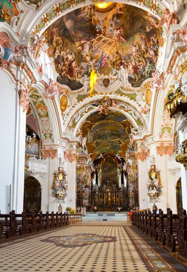 Benedictine Abbey Of Einsiedeln, Switzerland Royalty Free Stock Photo