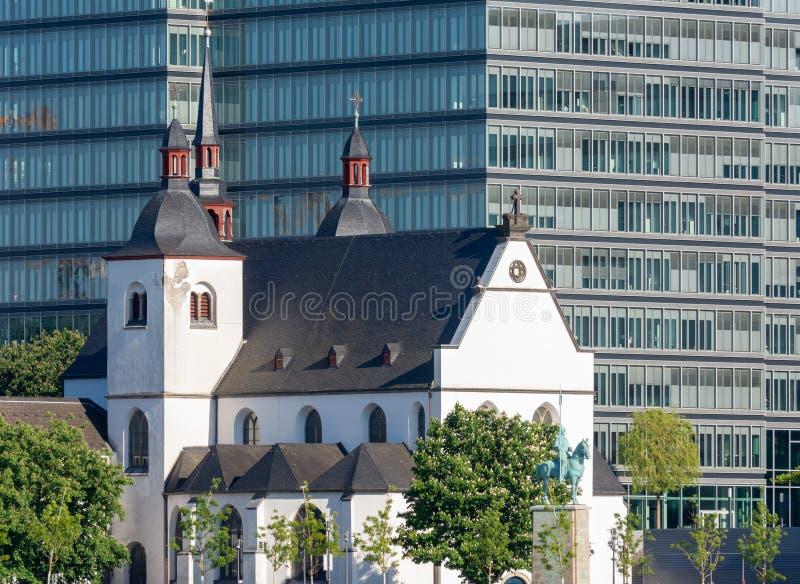 Benedictine abbotskloster i Cologne royaltyfri bild
