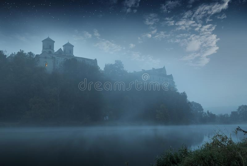 Benedictineabbotskloster i Tyniec, Polen royaltyfri fotografi