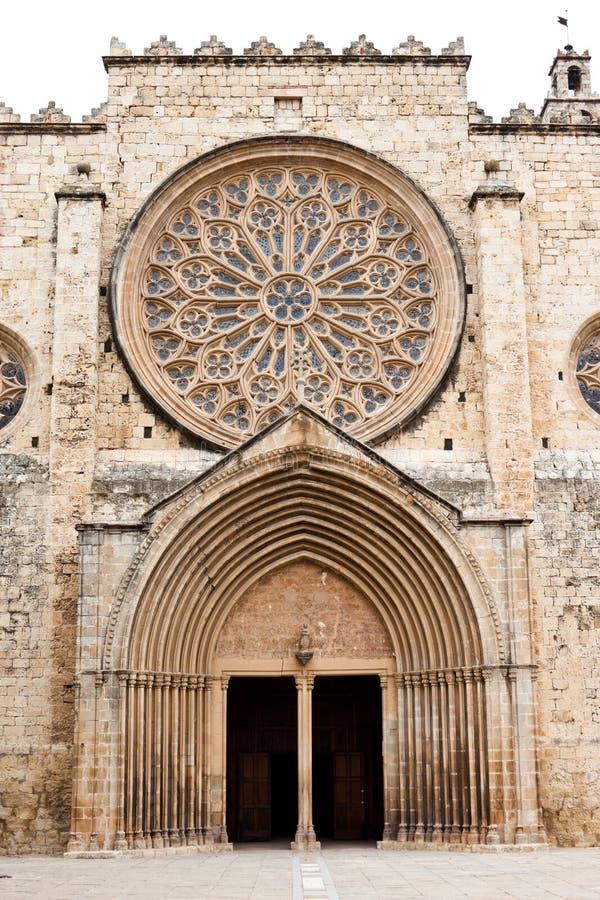 Benedictineklooster in Sant Cugat royalty-vrije stock afbeeldingen