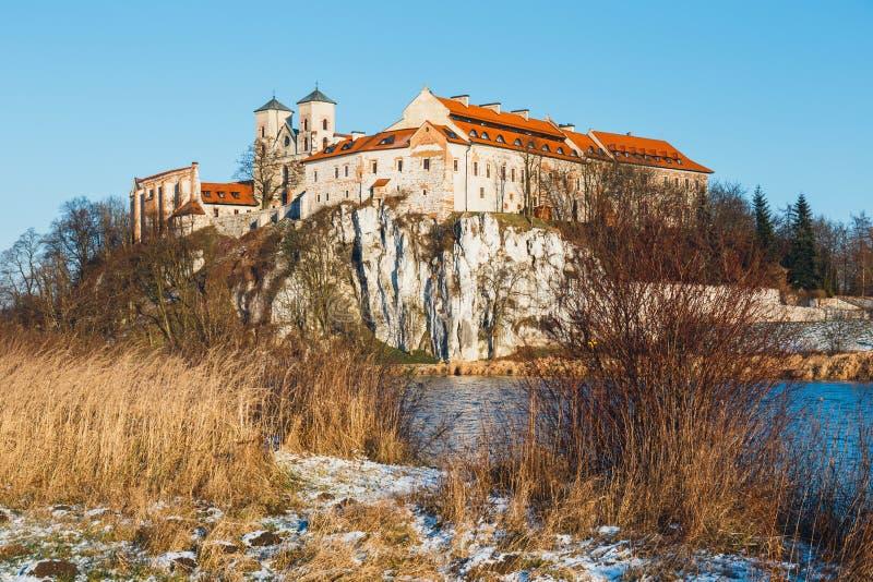 Benedictinekloster i Tyniec, Polen royaltyfria bilder