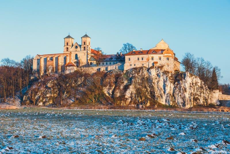 Benedictinekloster i Tyniec, Polen royaltyfri fotografi