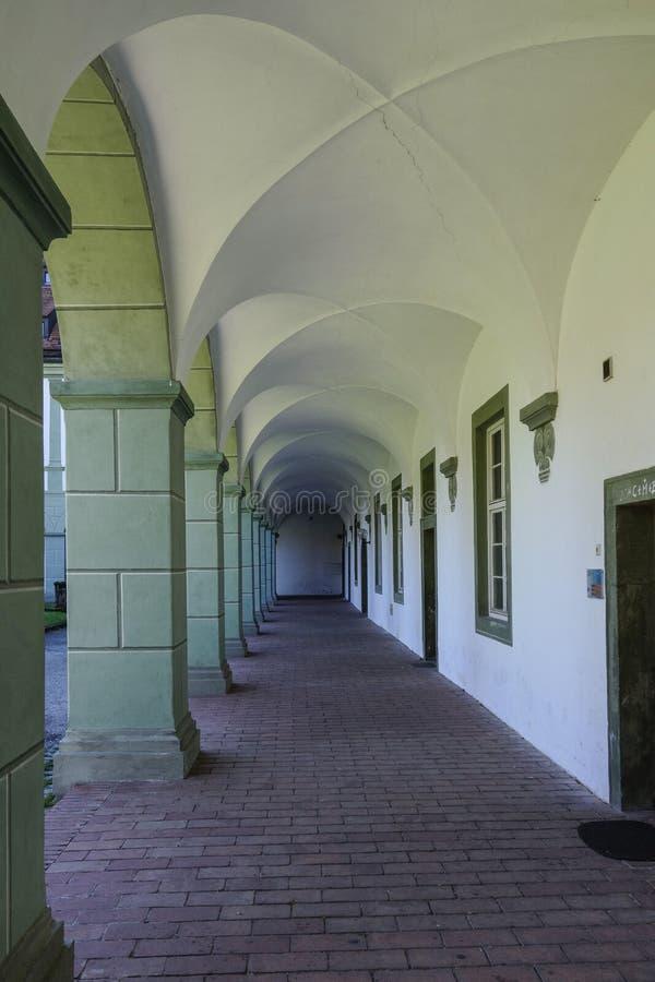 Benediktbeuern, μοναστήρι στοκ φωτογραφία με δικαίωμα ελεύθερης χρήσης