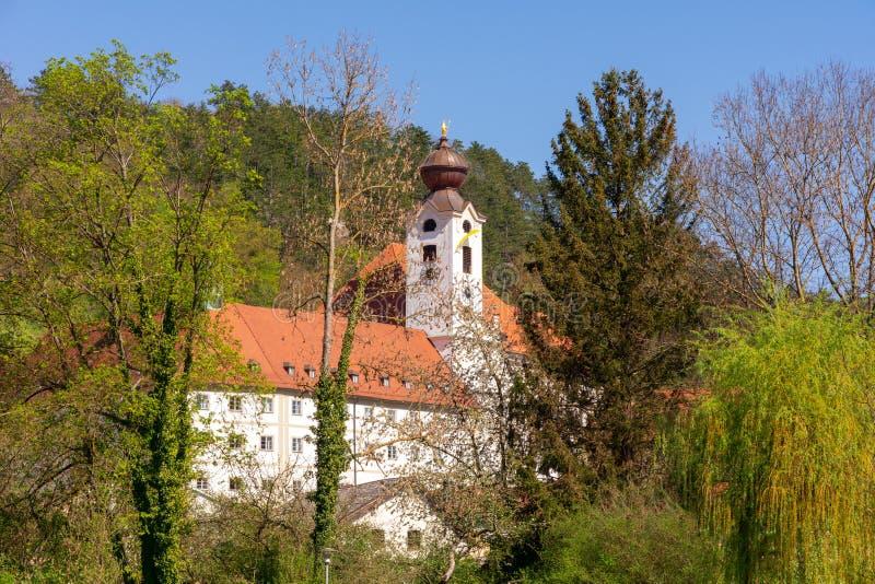 Benediktiner Abbey Sankt Walburg in Eichstaett stockbilder