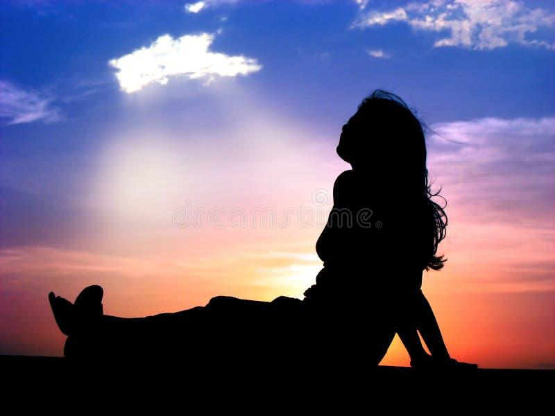 Benedizione Dal Cielo Fotografia Stock