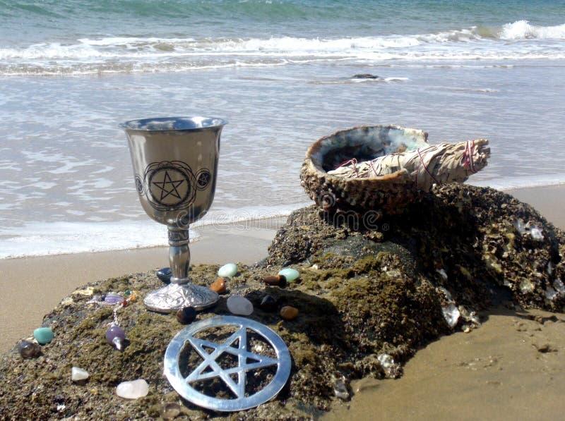 Benedizioni 3 della spiaggia fotografie stock libere da diritti