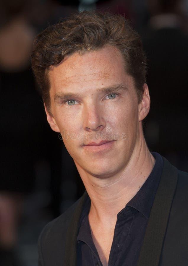 Benedykt Cumberbatch obrazy royalty free