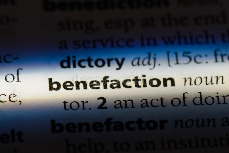benefaction stock afbeeldingen