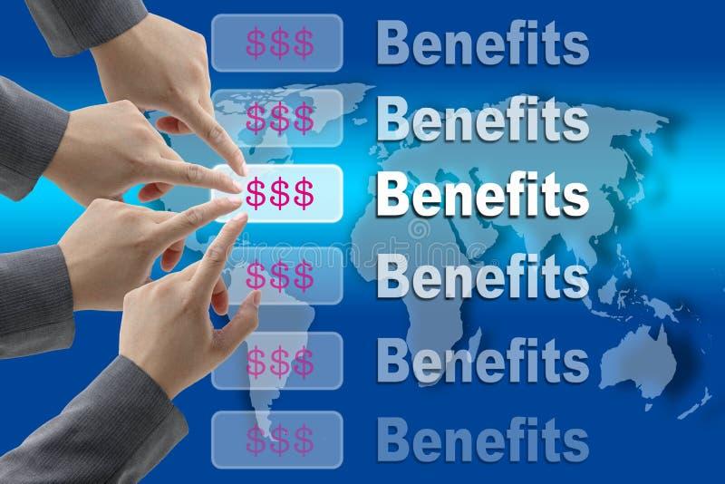 Benefici di affari royalty illustrazione gratis