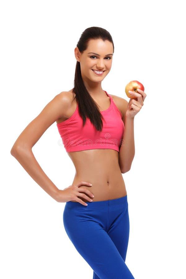 Benefici di buona nutrizione immagini stock
