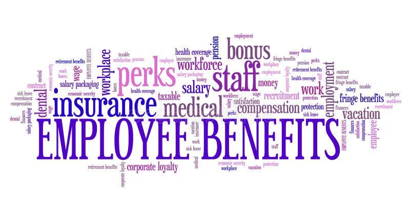 Benefici di occupazione illustrazione vettoriale