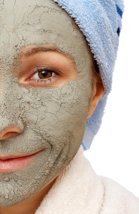 Download The Beneficial Effect On The Skin Of The Clay Stock Photo - Image: 28627616
