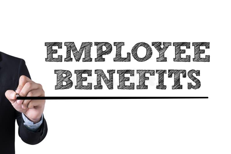 benefits anställd royaltyfria foton