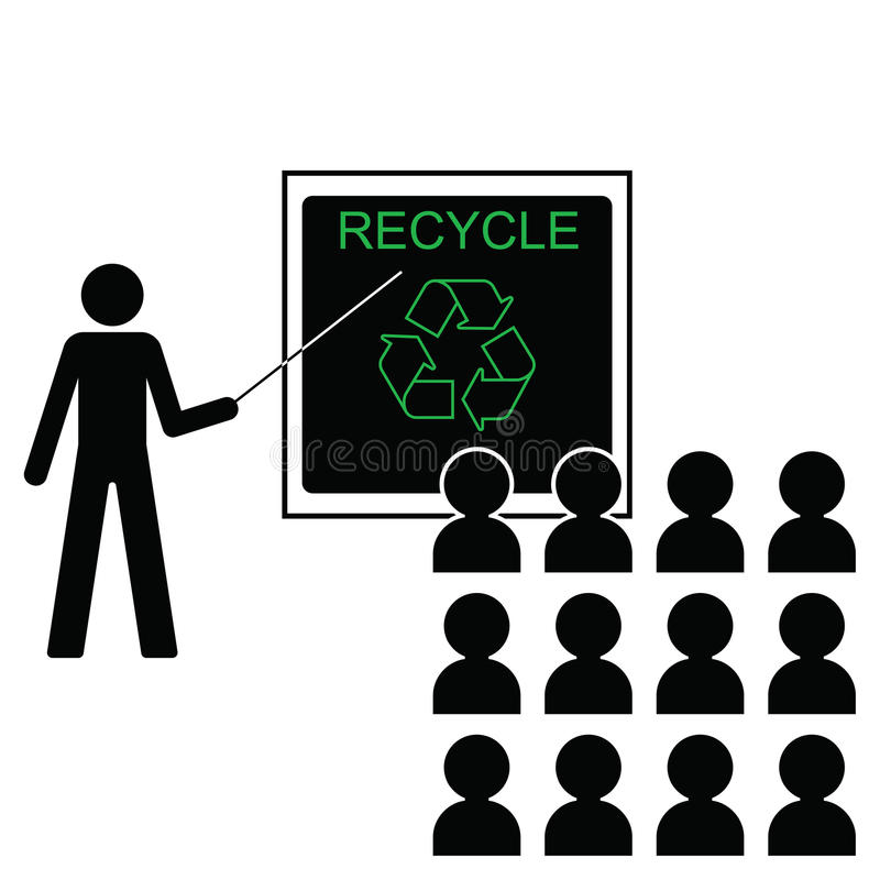 Download Benefits of recycling stock vector. Image of lesson, environmentalism - 12979796