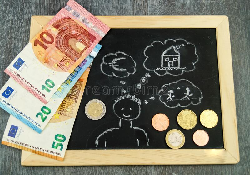 Housing Child benefit royalty free stock images
