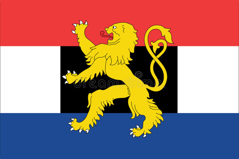 benelux flaga ilustracja wektor