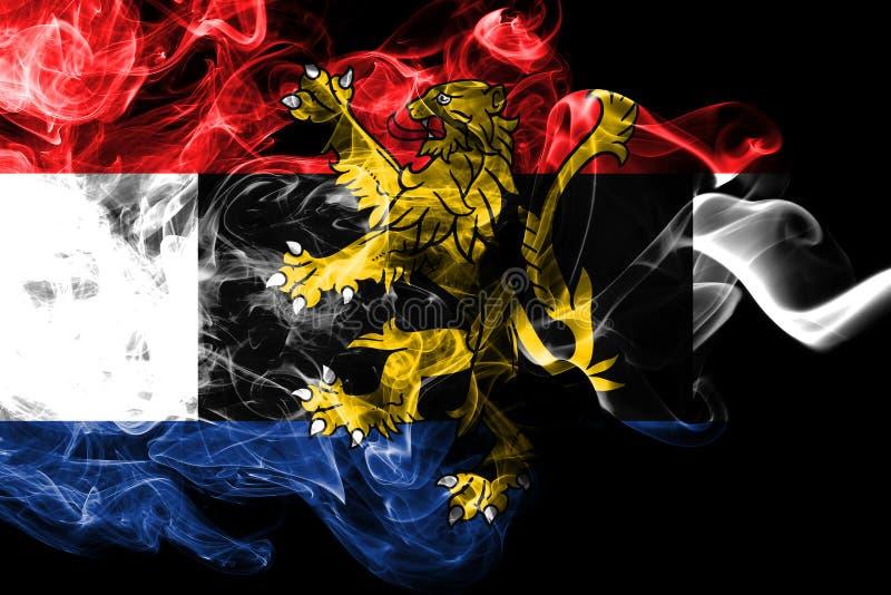 Benelux-Rauchflagge, wirtschaftpolitischer Verband von Belgien, die Niederlande, Luxemburg lizenzfreie stockfotos