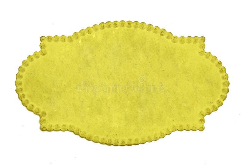 Benennende Karte der Weinlese lizenzfreie stockfotos